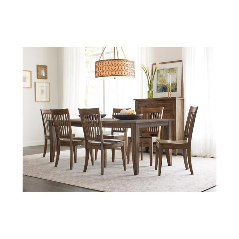 Superb 663 761 Kincaid Furniture The Nook Oak 80 Inch Large Rectangular Leg Table Beatyapartments Chair Design Images Beatyapartmentscom