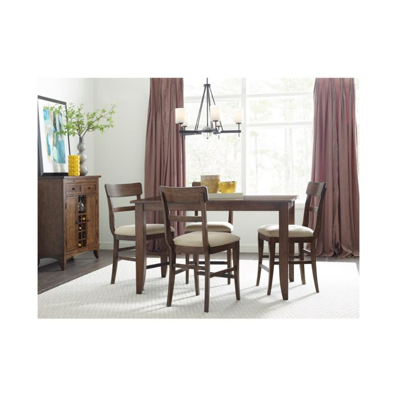 664-762 Kincaid Furniture The Nook Maple 60 Inch Counter Height Leg Table