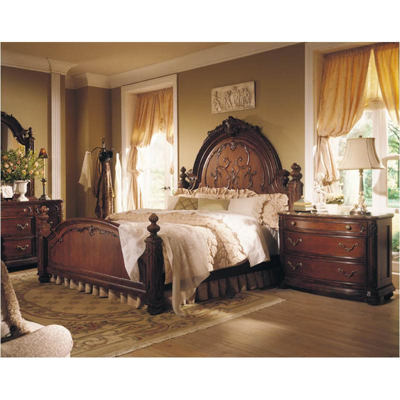 721-313 American Drew Furniture Queen Victorian Mansion Bed