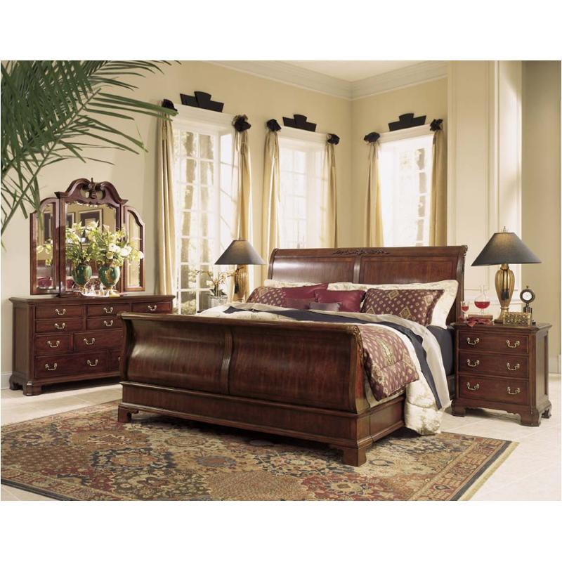 791 304 American Drew Furniture Cherry Grove Queen Sleigh Bed