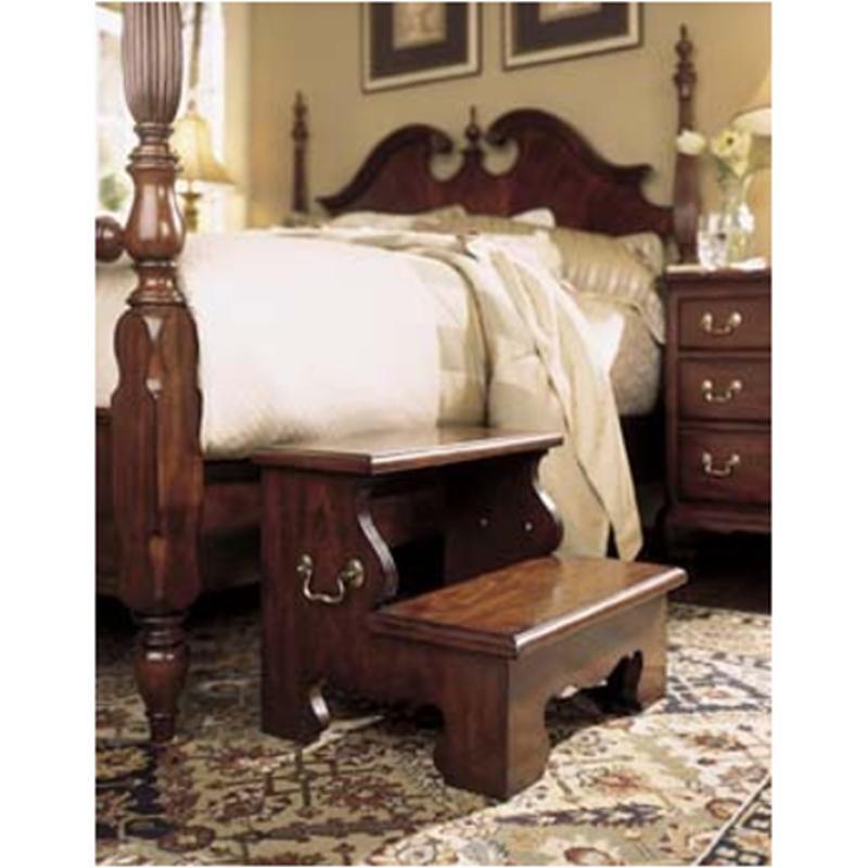 791 386 american drew furniture eastern king low poster - American drew cherry bedroom set ...