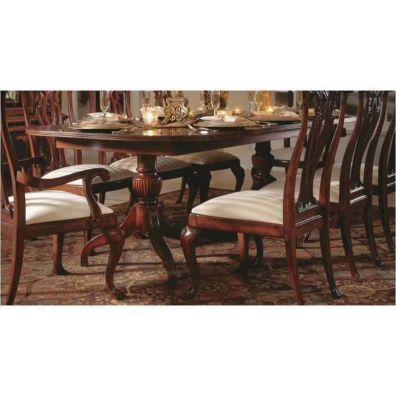 792-744 American Drew Furniture Pedestal Dining Table