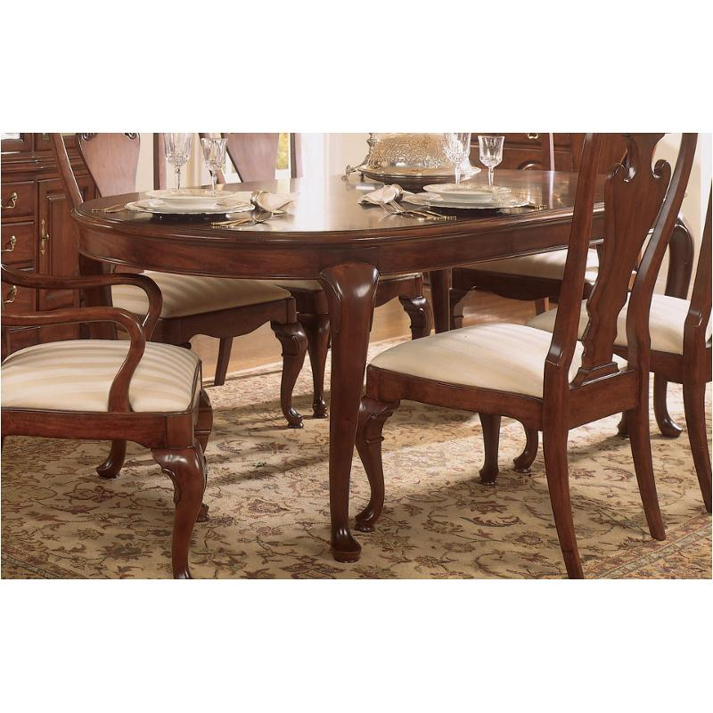 792-760 American Drew Furniture Cherry Grove Oval Leg Dining Table