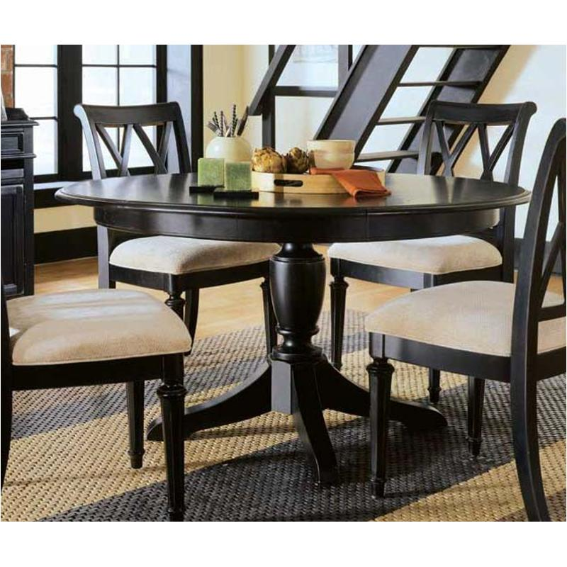 919 701 American Drew Furniture Round Dining Table Dark