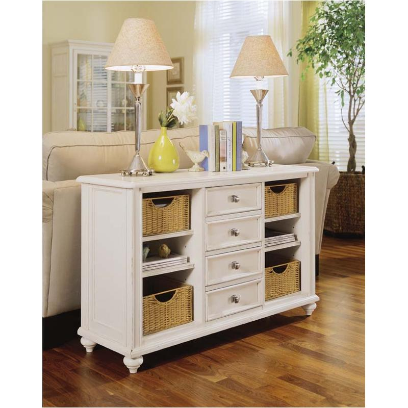 920 925 American Drew Furniture Console Table Buttermilk