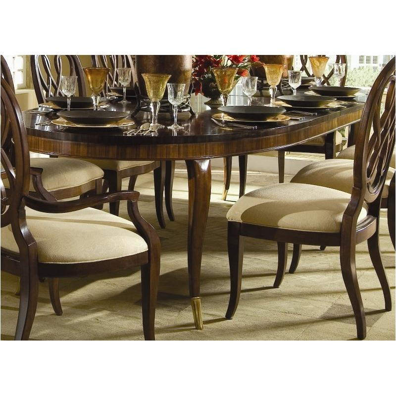 591 760 American Drew Furniture Bob Mackie Home Signature Dining Room Table