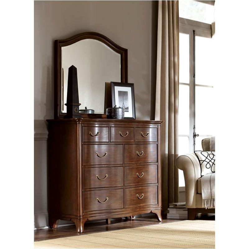 Is American Drew Furniture Good Quality: 091-020 American Drew Furniture Arched Landscape Mirror