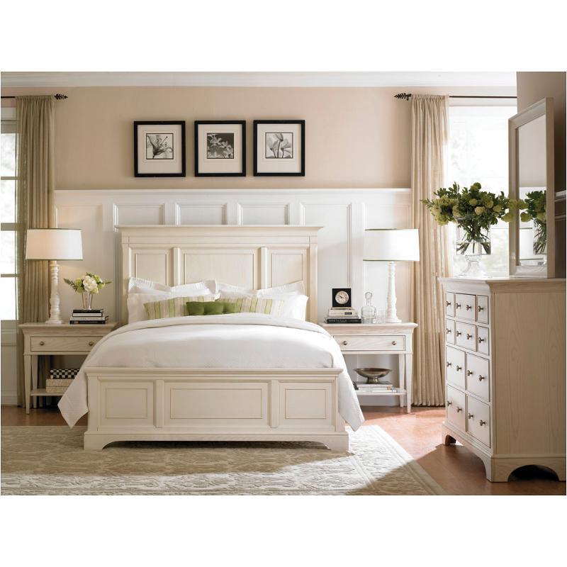 901-324w American Drew Furniture Ashby Park-sea Salt Bedroom Bed - 901-324w American Drew Furniture Queen Panel Bed-sea Salt