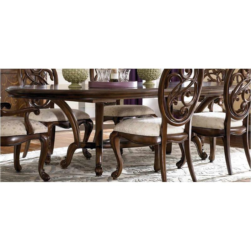 908 744 American Drew Furniture Renaissance Dining Table Mink