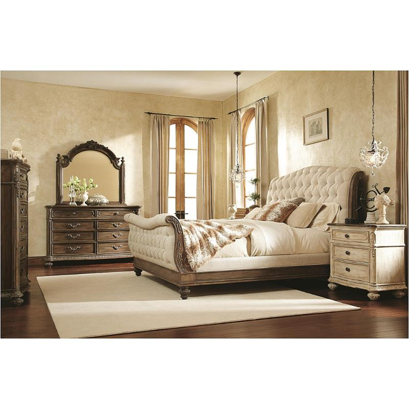 217 304b American Drew Furniture Jessica Mcclintock   The Boutique    Baroque Bedroom Bed