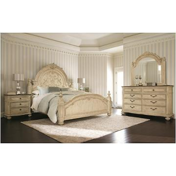 217 313w American Drew Furniture Queen Mansion Bed White