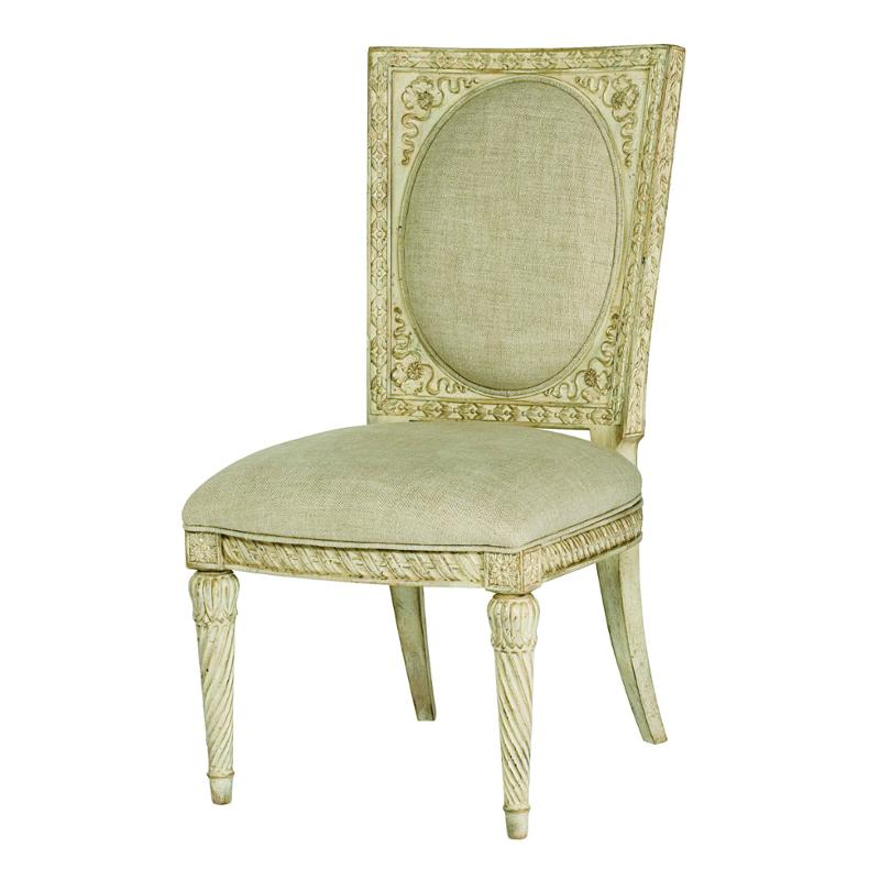 217 638w American Drew Furniture Side Chair White Veil