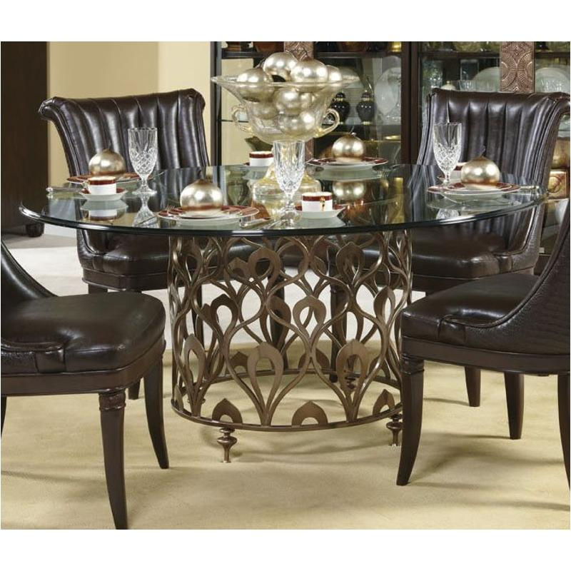 308 702 American Drew Furniture Bob Mackie Home Dining Room Table