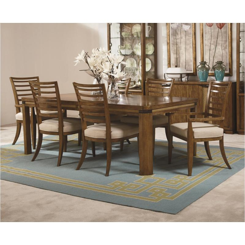 314 760 American Drew Furniture Grove Point Rectangular Leg Table