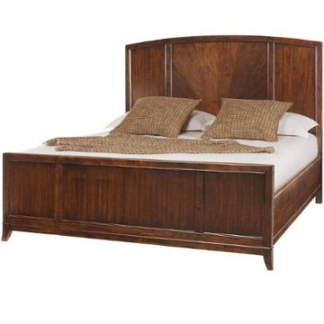 318 313 American Drew Furniture Motif Bedroom Queen Panel Bed