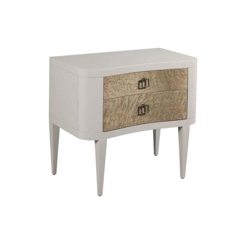 603 421 American Drew Furniture Watson Two Drawer Nightstand