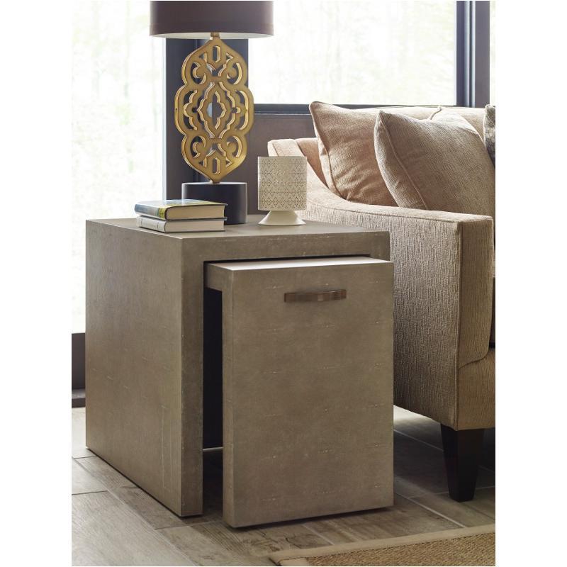 603-913 American Drew Furniture Modern Classics Vernon Nesting End Tables