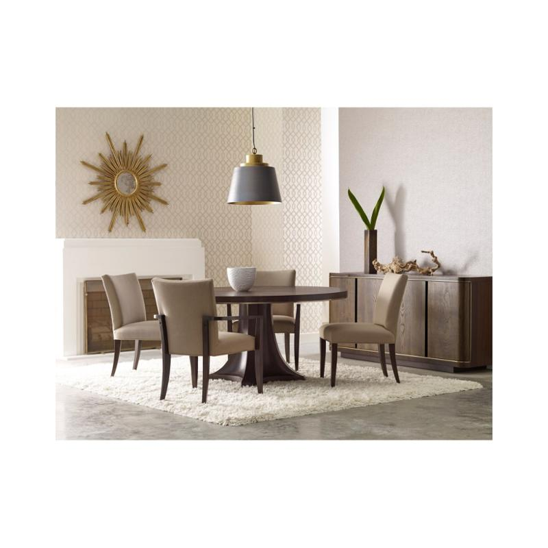 600-701 American Drew Furniture Round Pedestal Dining Table