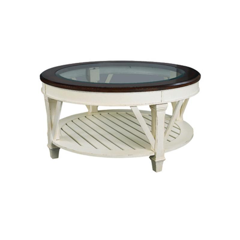 T2001805-02 Hammary Furniture Promenade Cocktail Table
