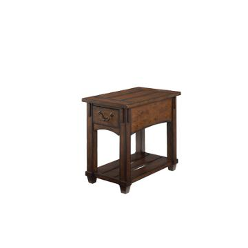 049 916 hammary furniture tacoma living room chairside table for Furniture bank tacoma