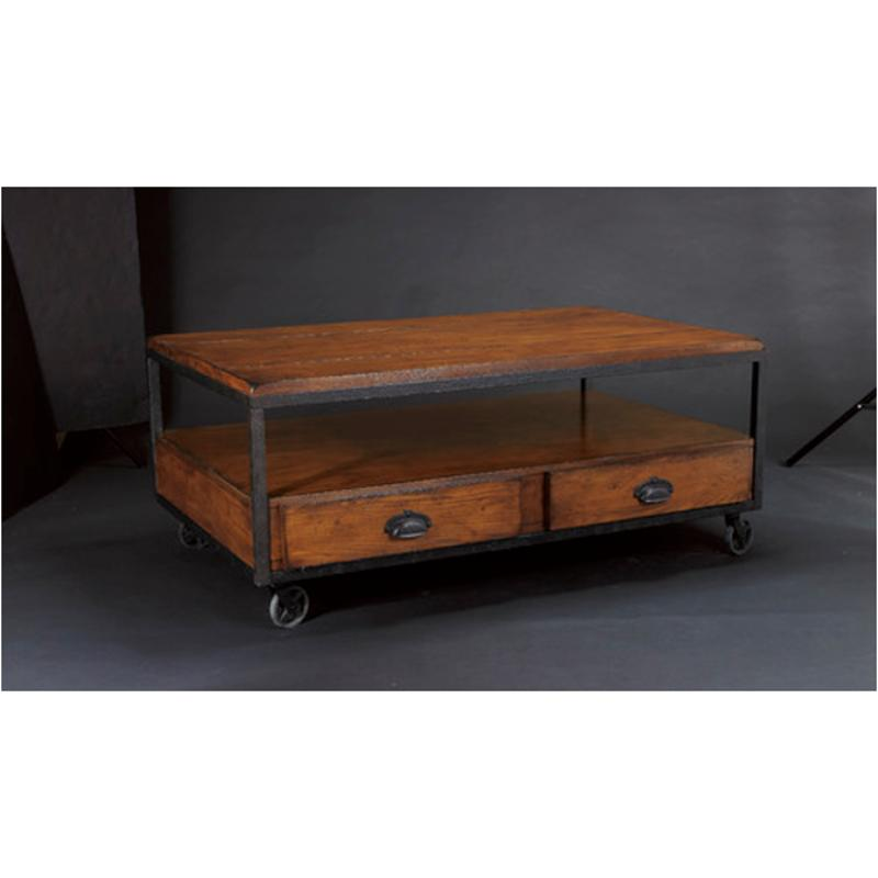 T2075207 00 Hammary Furniture Baja Living Room Cocktail Table