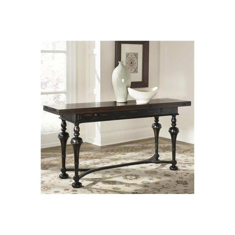 T73026 00 Hammary Furniture Flip Top Console Table