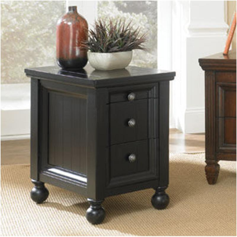 T73474 22 Hammary Furniture Hidden Treasures Chairside Table