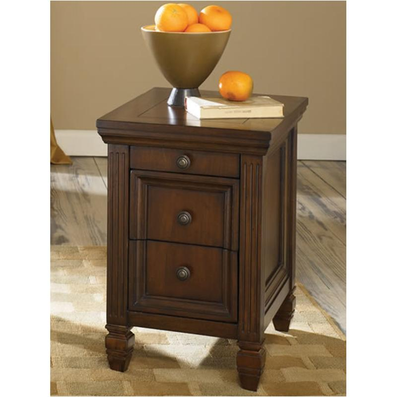 T73647 00 Hammary Furniture Chairside Table Cherry Finish