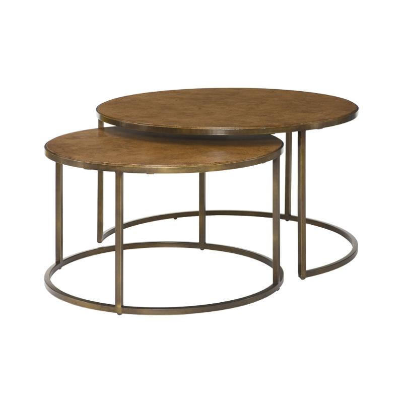 376 911 Hammary Furniture Soho Round Tail Table