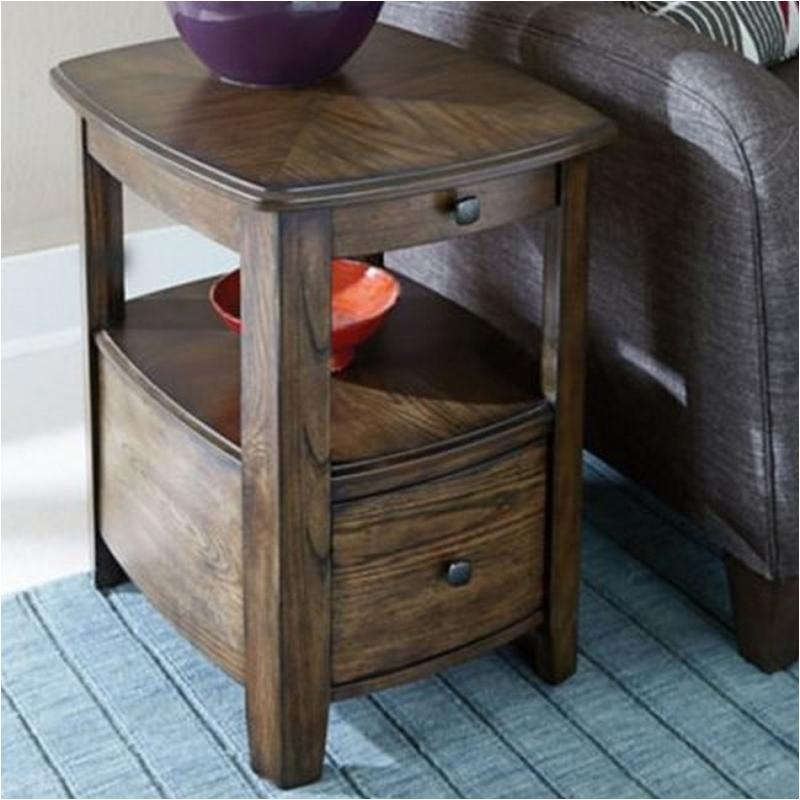 446 916 Hammary Furniture Primo Graphite Living Room End Table