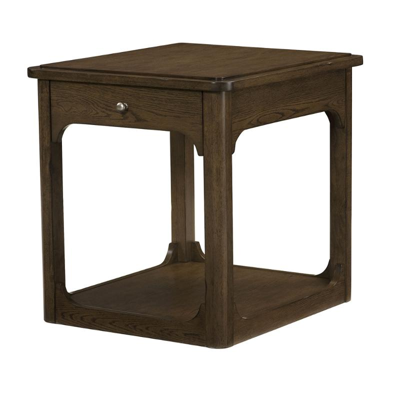 438 915 Hammary Furniture Facet Living Room End Table