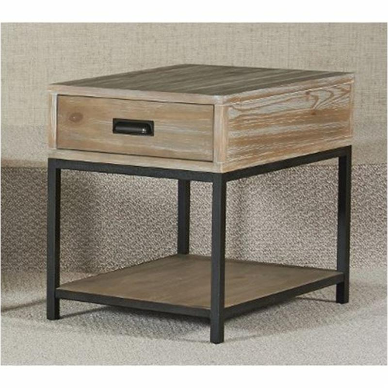 444 915 Hammary Furniture Parsons Rectangular Drawer End Table