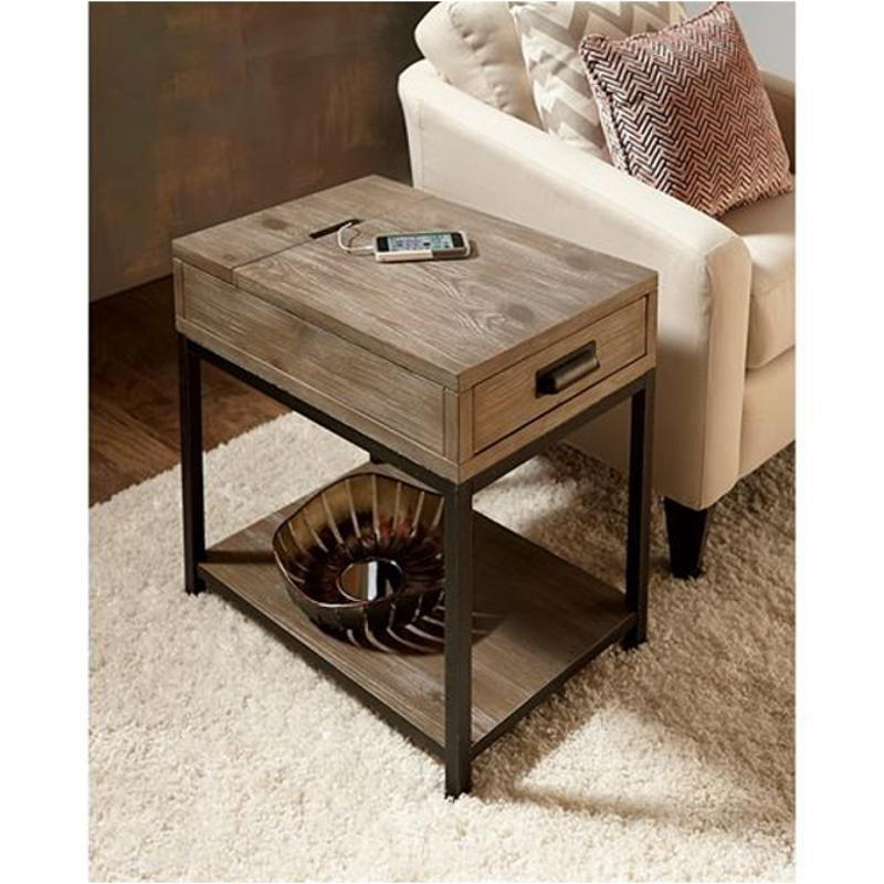 444 916 Hammary Furniture Parsons Living Room End Table