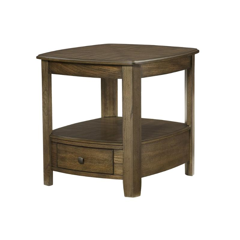 446 915 Hammary Furniture Primo   Graphite Living Room End Table