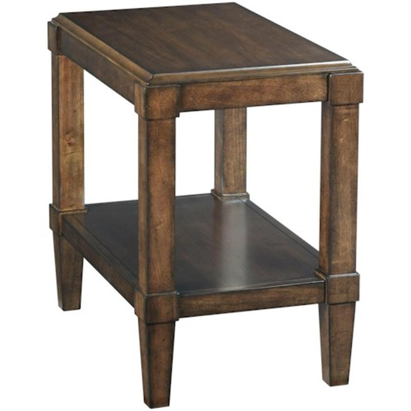 620 916 Hammary Furniture Halsey Living Room Chairside Table