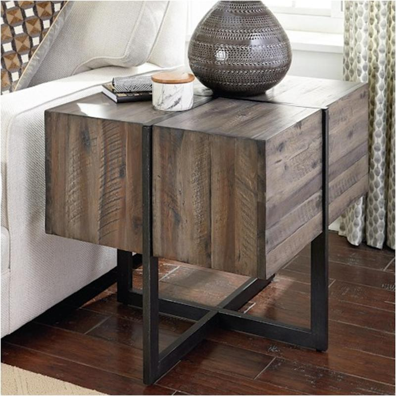 626-915 Hammary Furniture Modern Timber Accent End Table