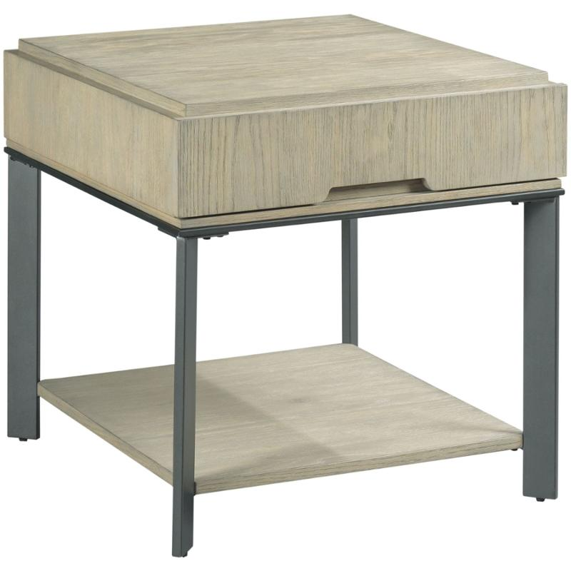 784 915 Hammary Furniture Sofia Rectangular Drawer End Table