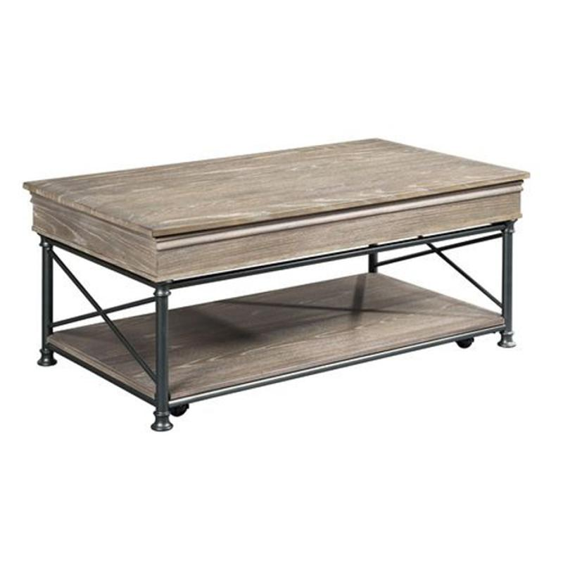 823 910 Hammary Furniture Rectangular Lift Top Cocktail Table