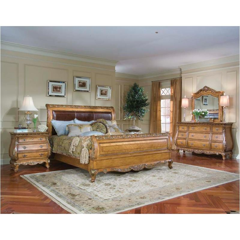 625 4306 Legacy Classic Furniture Eastern King Leather Sleigh Bed