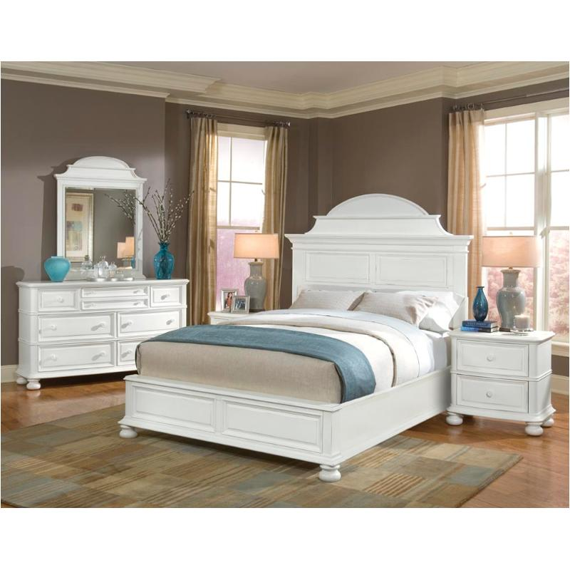 835-4206 legacy classic furniture south hampton king arched bed