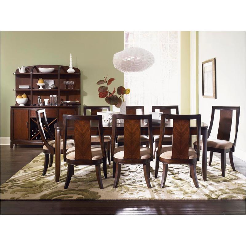 970 221 Legacy Classic Furniture Boulevard Rectangular Leg Table