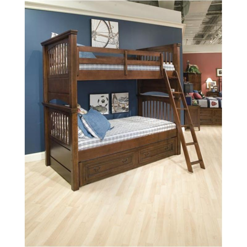 All American Furniture Stores In Dundee Fl: 490-8110c-fl Legacy Classic Furniture Twin Over Full Bunk Bed