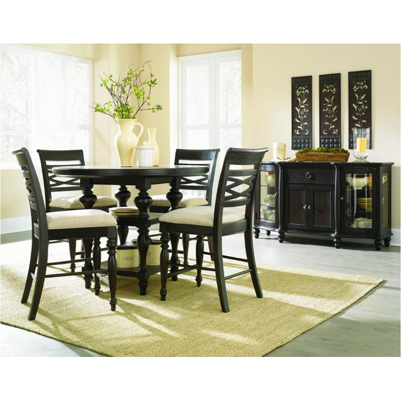 1521 940 Legacy Classic Furniture Glen Cove   Espresso Dining Room Counter  Height Table