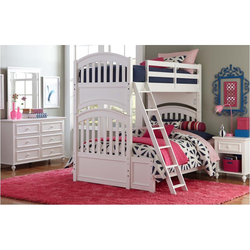 5811 8110 Fl Legacy Classic Furniture Twin Over Full Bunk Bed