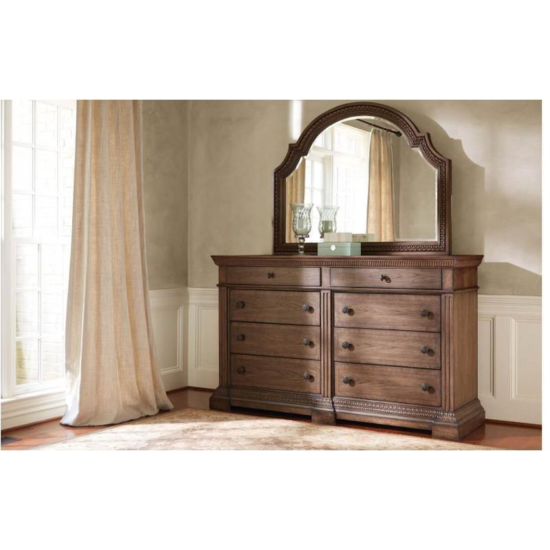 legacy classic furniture renaissance arched dresser mirror