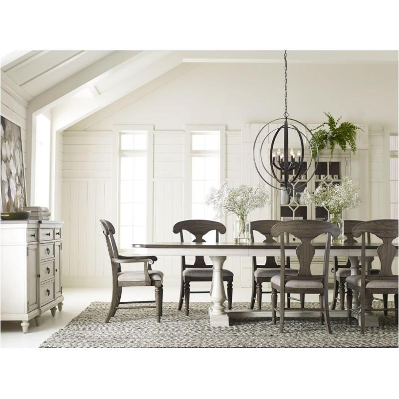 6400 622 T Legacy Classic Furniture Brookhaven Trestle Table