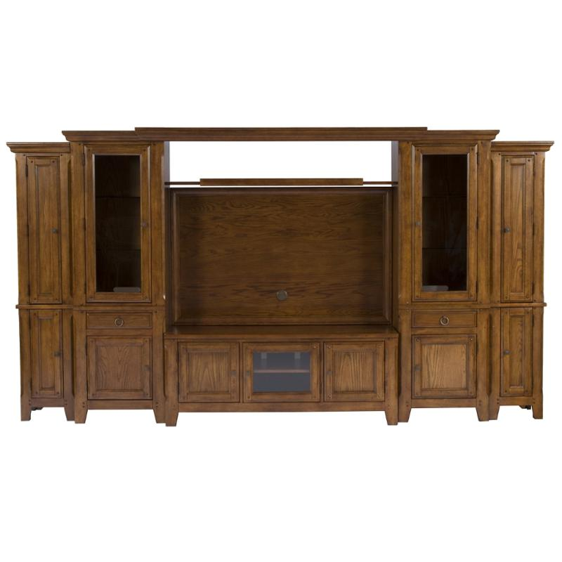 3597 79s Broyhill Furniture Attic Heirlooms Home Entertainment  Entertainment Center
