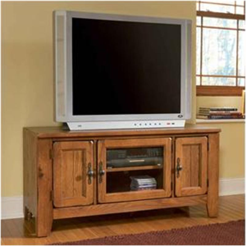 3597 82s Broyhill Furniture Attic Heirlooms Entertainment Console   Stain
