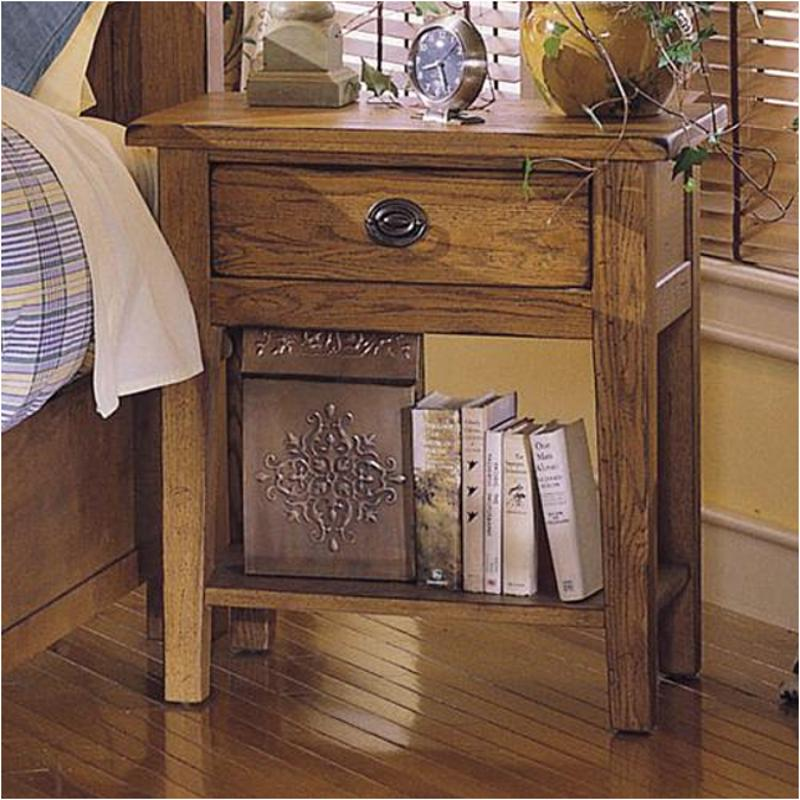4397 92 Broyhill Furniture Night Stand Stain