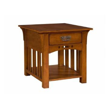 4078 002 Broyhill Furniture Artisan Ridge Living Room End Table